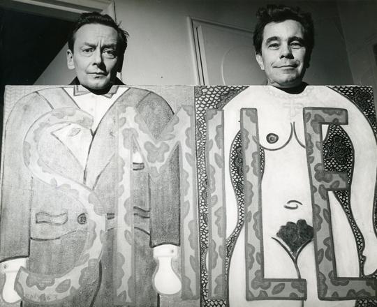 george-skibine-and-william-n-copley-1964