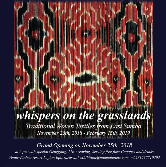 Whispers on the Grasslands: An Ikat Exhibition at Padma