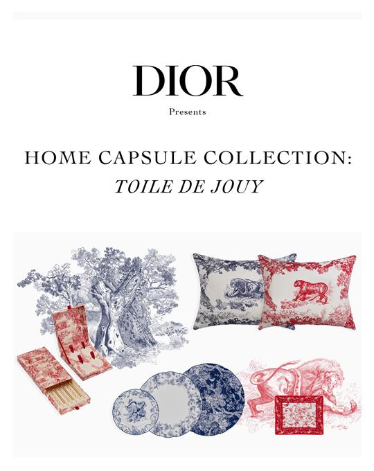 73512fc377 Dior Maison : Home Capsule Collection 'Toile de Jouy' | Sugar ...
