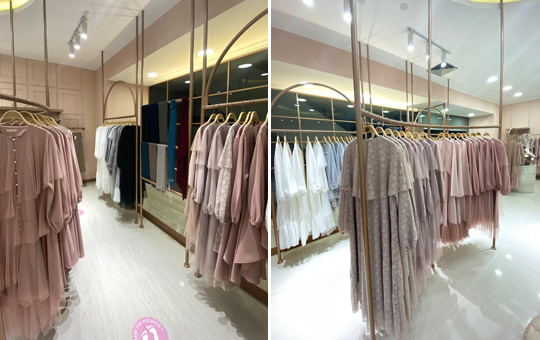 Hijabchic S New Store At Fx Sudirman Sugar Cream A Beautiful Life Deserves A Beautiful Home